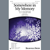 John Williams Somewhere in My Memory (arr. Mark Hayes) - Full Score cover kunst