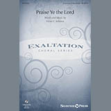 Victor C. Johnson Praise Ye The Lord cover art