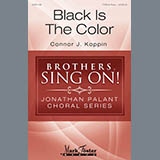 Connor J. Koppin Black Is The Color cover art