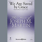 Joseph M. Martin We Are Saved by Grace - Bb Trumpet 2,3 l'art de couverture