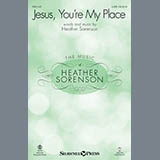 Heather Sorenson Jesus, You're My Place - Keyboard String Reduction cover art
