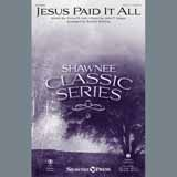 Jesus Paid It All - Choir Instrumental Pak Digitale Noter