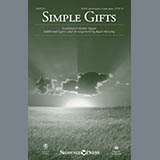 Simple Gifts for Choir Instrumental Pak Bladmuziek