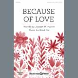 Because Of Love (Joseph M. Martin) Noten