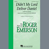 Traditional Spiritual Didn't My Lord Deliver Daniel (arr. Roger Emerson) cover art
