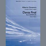 "Robert Longfield Danza Final (from ""Estancia"") - Eb Alto Saxophone 2 arte de la cubierta"