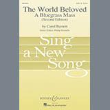 Carol Barnett The World Beloved: A Bluegrass Mass - Bass cover art
