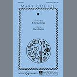 If (Mary Goetze) Sheet Music