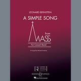 A Simple Song (from Mass) - Concert Band