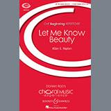 Allan Naplan Let Me Know Beauty l'art de couverture