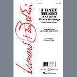 Leonard Bernstein - I Hate Music (arr. Robert Page)