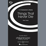 Mark Sirett - Things That Never Die