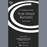 Andrea Ramsey - That Which Remains