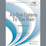 As One Listens to the Rain - Concert Band Noder