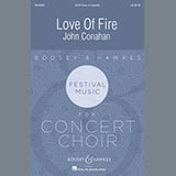 John Conahan Love Of Fire l'art de couverture