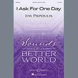 Jim Papoulis I Ask For One Day cover kunst
