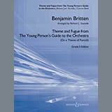 Benjamin Britten - Theme and Fugue from The Young Person's Guide to the Orchestra - Conductor Score (Full Score)