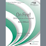 On Fire! (Wild Ride on a Fire Engine) - Concert Band Noten