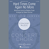 Stephen Foster Hard Times Come Again No More (arr. Shawn Kirchner) cover art