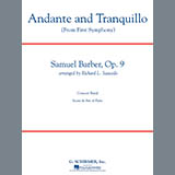 Andante and Tranquillo (from First Symphony) - Concert Band