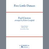 Paul Creston Five Little Dances (arr. Robert Longfield) cover art