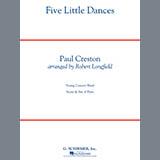 Robert Longfield Five Little Dances - Eb Alto Clarinet cover art
