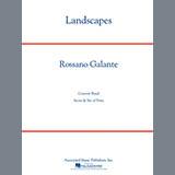 Partition autre Landscapes - Timpani de Rosanno Galante - Autre