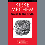 Kirke Mechem Great Is The Truth cover art
