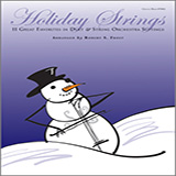 Robert S. Frost Holiday Strings - opt. Viola T.C. arte de la cubierta