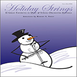 Robert S. Frost Holiday Strings - Piano (opt.) cover art