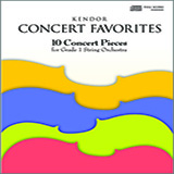 Various Kendor Concert Favorites - Full Score cover art