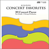 Various Kendor Concert Favorites - 3rd Violin cover kunst