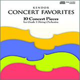 Various Kendor Concert Favorites - Optional Piano cover art