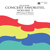 Various Kendor Concert Favorites, Volume 3 - 2nd Violin cover art