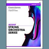 Caponegro Greensleeves - Violin 3 arte de la cubierta