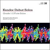 Kempton Kendor Debut Solos - Flute cover art