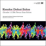 Kendor Debut Solos - Bb Tenor Sax Partitions