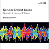 Kendor Debut Solos - Horn in F Partituras