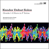 Kendor Debut Solos - Horn in F - Piano Accompaniment Partituras