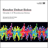 Kendor Debut Solos - Trombone Sheet Music