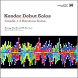 Kendor Debut Solos - Baritone T.C. Sheet Music