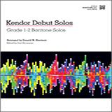 Kendor Debut Solos - Baritone T.C. Noter