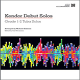 Kendor Debut Solos - Tuba - Piano Accompaniment Sheet Music