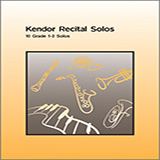 Various Kendor Recital Solos - Eb Alto Saxophone - Piano Accompaniment cover art