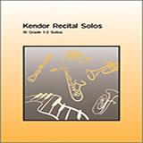 Various Kendor Recital Solos - Bb Tenor Saxophone - Solo Book cover art