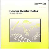 Kendor Recital Solos - Baritone T.C. - Solo Book with MP3 Noder