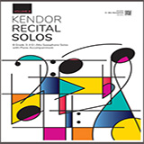 Various Kendor Recital Solos, Volume 2 - Piano Accompaniment cover kunst