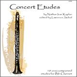 Lawrence Sobol Concert Etudes cover art