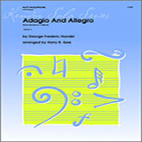 Adagio And Allegro (From Sonata In C Minor by Händel) - Woodwind Ensemble - Alto Saxophone