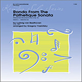 Rondo From The Pathetique Sonata (Themes From Movement III, No. 8, Op. 13) - Alto Sax
